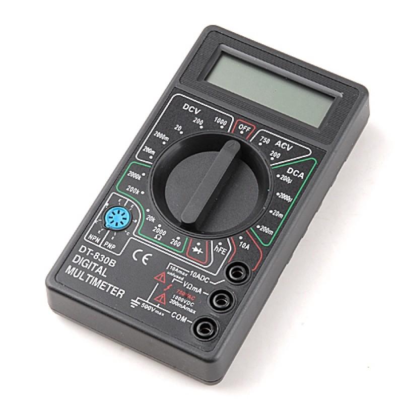 LCD 數字萬用表交流直流電壓表測試工具