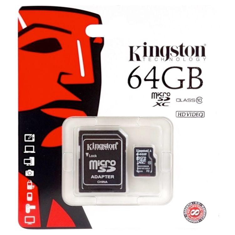 Kingston 金士頓 64G MicorSD記憶卡【極限專賣】