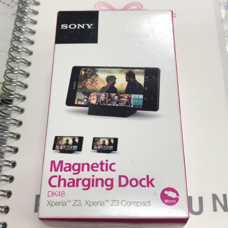 貨Sony Xperia Z3 Z3 Compact 座充DK48