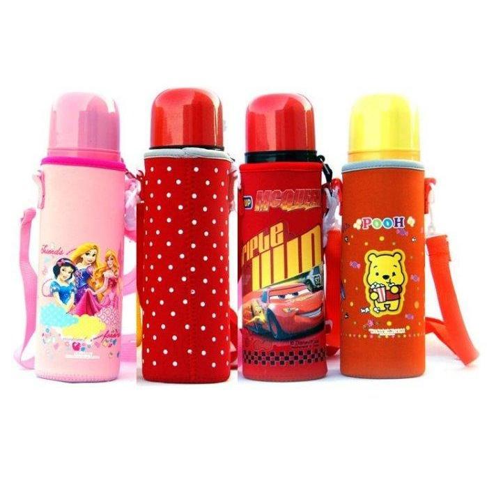 保溫杯套背帶杯保護套膳魔師兒童保溫杯太和工房迪士尼系列保溫杯套350 500ML