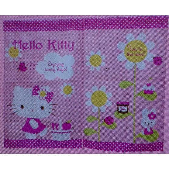 A Hello Kitty 太陽花門簾85 68 向日葵