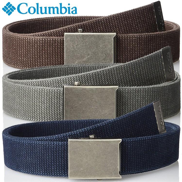 美國品牌 Columbia 哥倫比亞 男士帆布腰帶 純棉休閑戶外皮帶