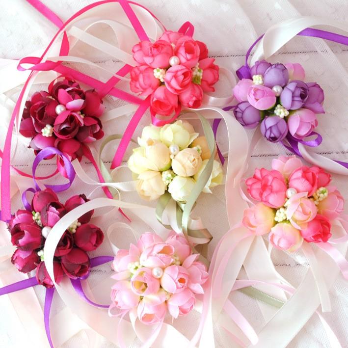 小物球型拉花婚禮小物婚禮喜宴會場佈置主題派對裝飾 藝品開幕工商活動環境裝飾門把花