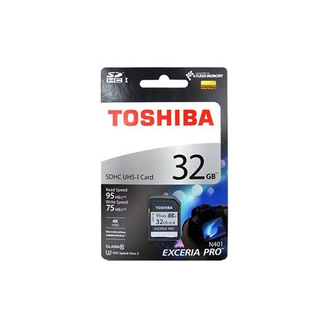 東芝TOSHIBA EXCERIA PRO SDHC 32GB U3 高速記憶卡讀95MB