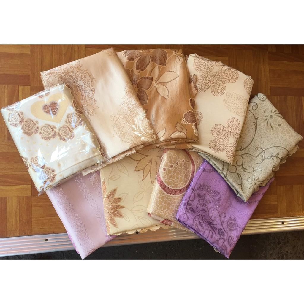 金絲刺繡緹花桌巾3 8 6 長方