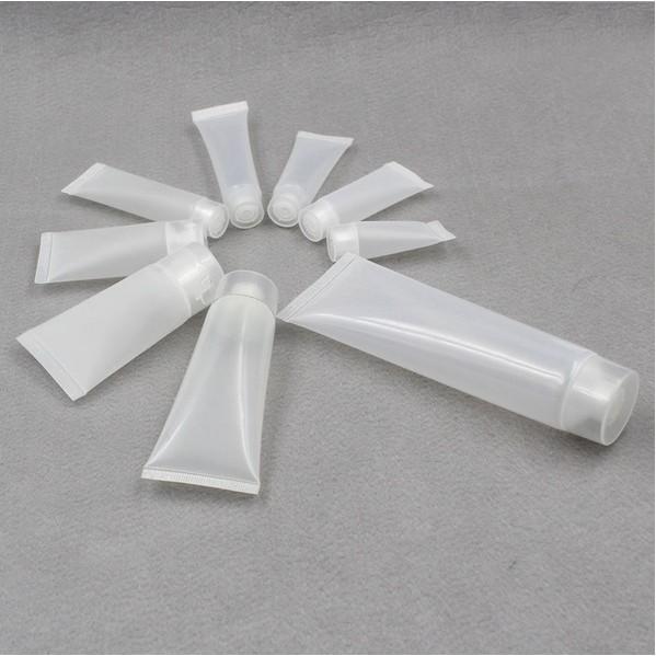 ✨ ✨5ml10 15 30 50 100 毫升洗面乳護手霜化妝品分裝瓶軟管旋蓋分裝軟管擠
