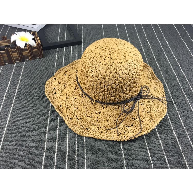 S A S ✨ 親子草帽綁帶蝴蝶結草帽遮陽帽海邊渡假草帽大簷帽沙灘草帽防曬