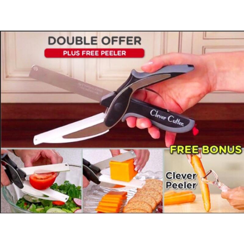 Clever Cutter 萬用剪刀剪刀砧板二合一預計下周到貨