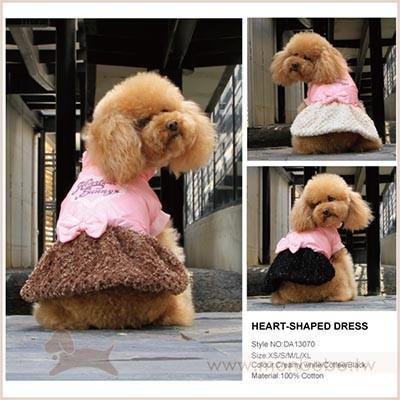 寵物衣服DOBAZ 亮皮細緻毛毛裙洋裝零碼 機會難得當天發貨