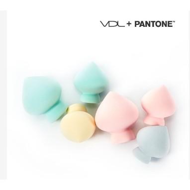 VDL 粉底用pantone 馬卡龍粉撲蛋、桃花型粉撲只有粉色
