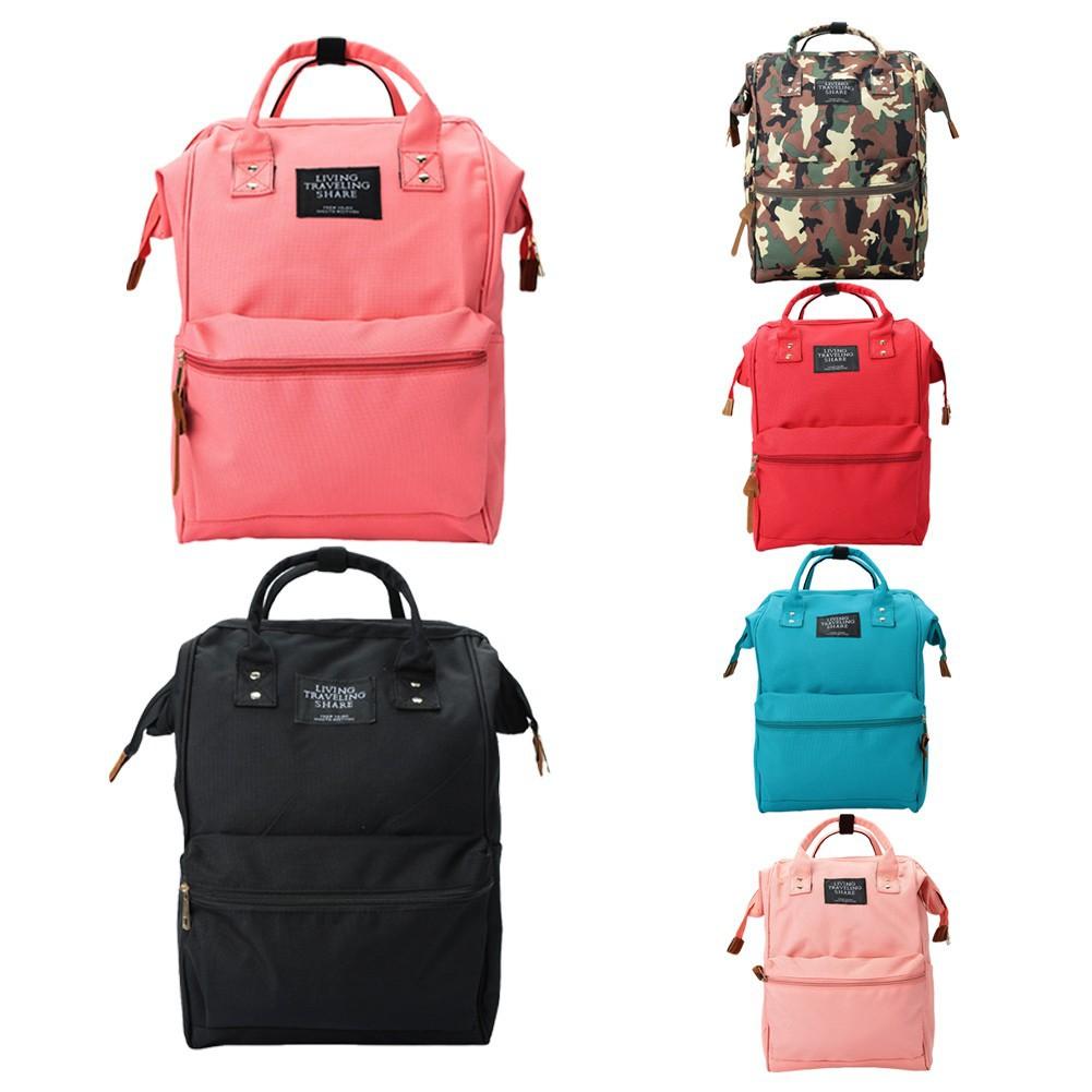 男女 背包 雙肩包大容量可調節肩帶拉鏈閉合手提包學生書包電腦包帆布旅行包