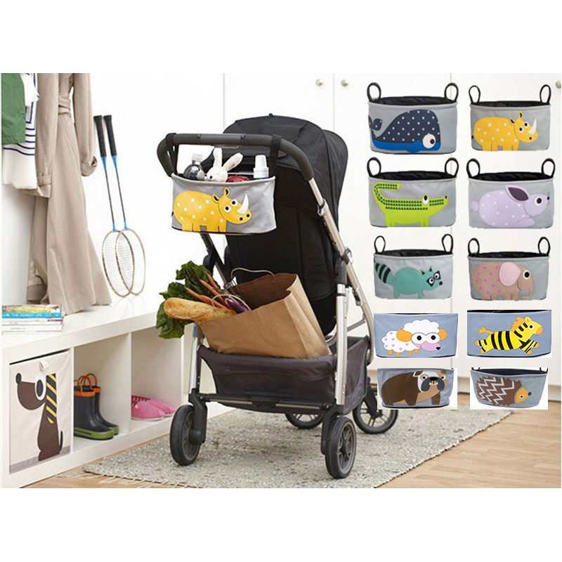 ~福氣屋~可愛動物嬰兒推車媽咪包嬰兒推車掛袋嬰兒車 袋兒童手推車掛包推車 10 款