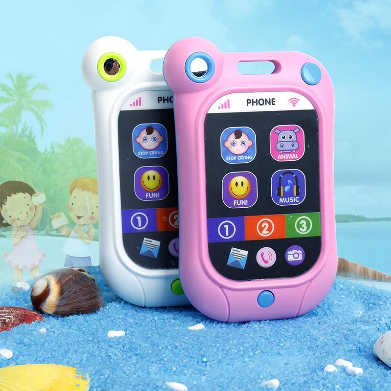 Baby 寶寶止哭手機安撫手機多 仿真觸屏玩具手機嬰兒玩具兒童玩具手機早教益智玩具