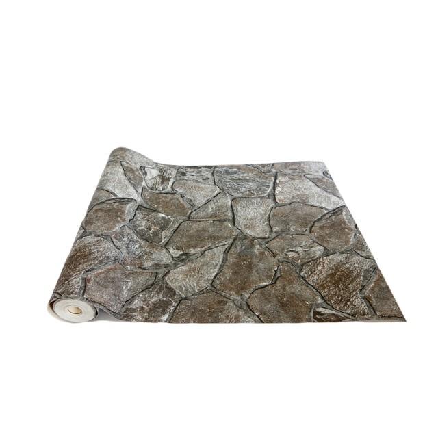 MIT  立體壓紋仿真文化石壁紙~每入附贈壁紙膠1 袋~~施工 說明書~