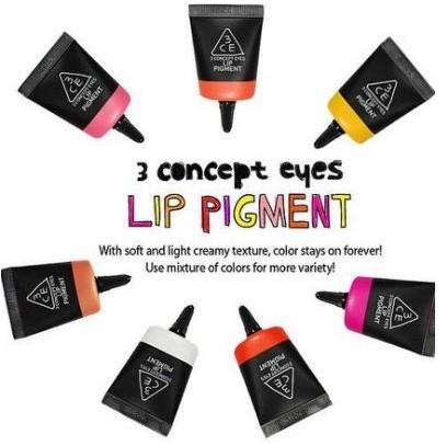 MeowZ 喵莉 3CE 化妝間調色唇彩唇蜜唇釉液體口紅口紅套裝12 色 眼線筆氣墊粉餅B