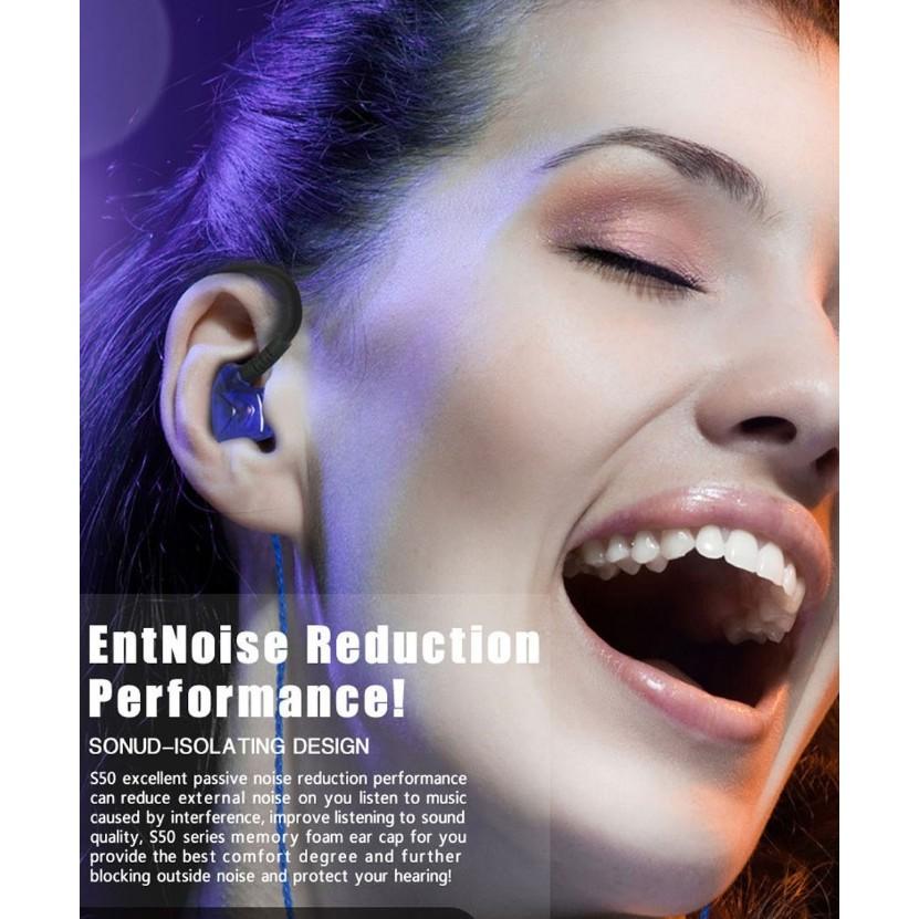 SS 50 高音質演唱會監聽級耳機入耳式高音質重低音耳機 耳機免持聽筒