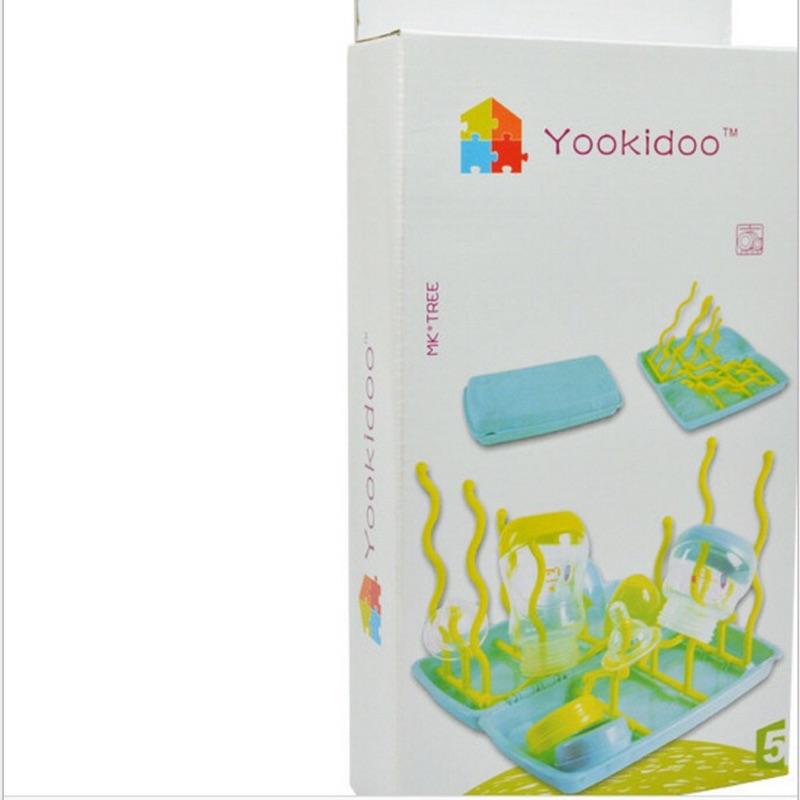 曈曈Bsby YOOKIDOO 嬰幼兒奶瓶架晾乾架抗菌奶瓶架樹形奶瓶晾曬架可收納