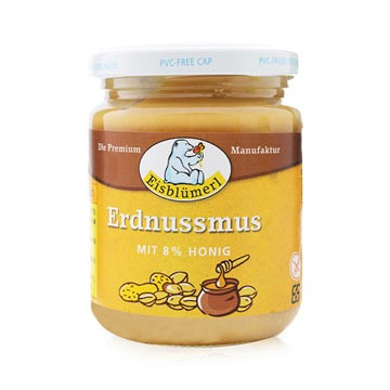 Eisblumerl 德國蜂蜜花生醬250g