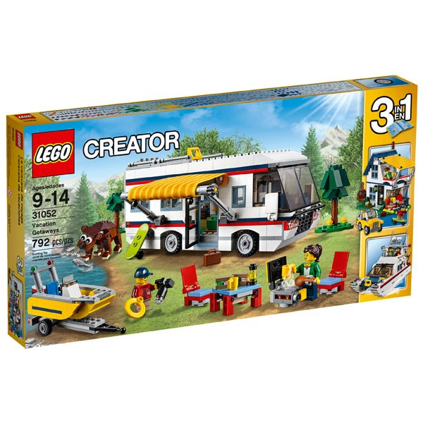 Brick Papa LEGO 31052 Vacation Getaways 度假露營車