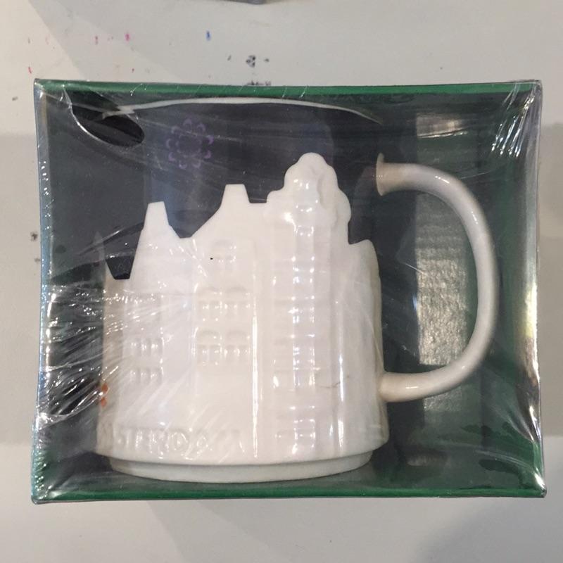 海尼根城市浮雕馬克杯荷蘭紐約倫敦台北星巴克