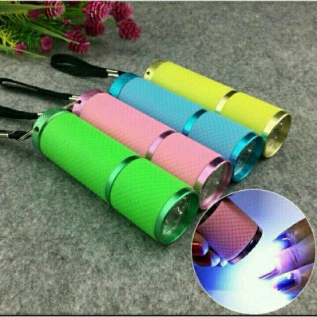 超 ~美甲9W 光療燈Led 手電筒光療燈輕巧迷你隨身攜帶型好方便