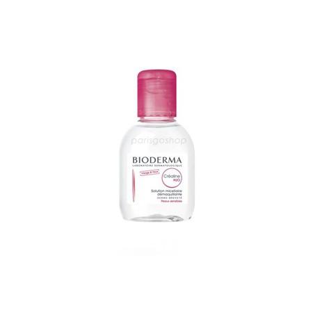 ~ ~Bioderma Crealine H2O 高效潔膚液敏感乾性肌紅蓋100ml BD