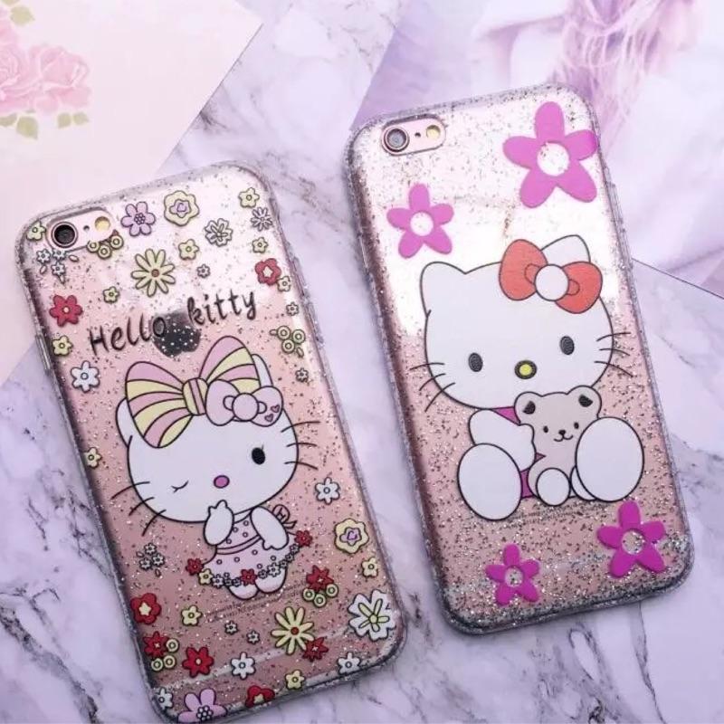 璀璨花朵kitty 系列iphone6 iphone6plus 手機保護套手機殼
