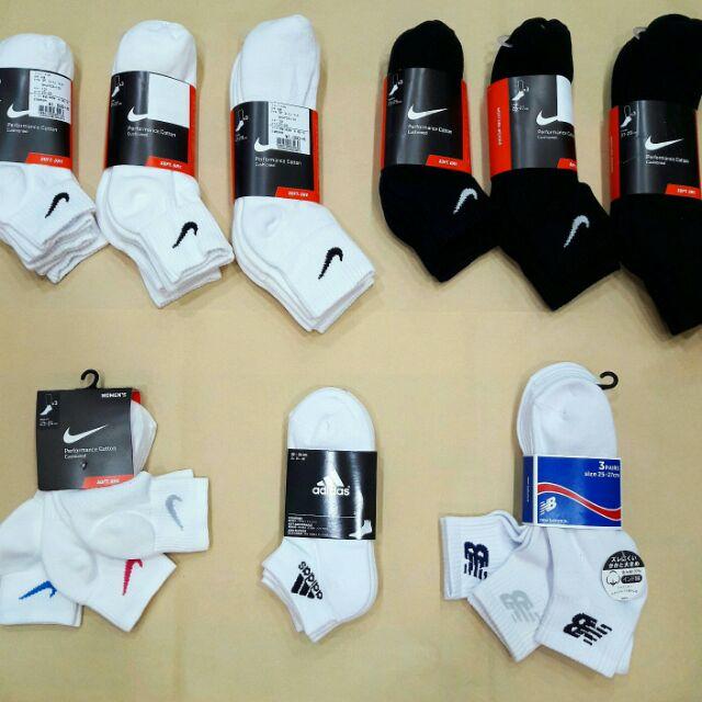 NIKE ADIDAS CHAMPION 日版白襪(單雙大 可自由配一雙130 )