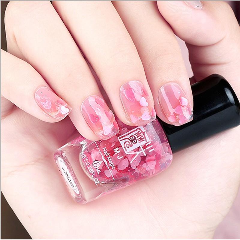 指甲油可剝美甲韓國水性糖果色女生裸色指甲油無味不掉色
