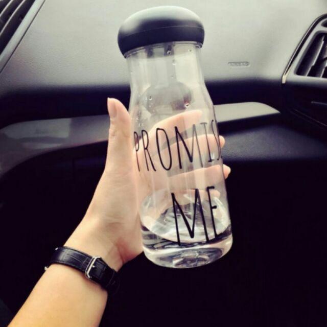 沒事多喝水系列簡約 PROMISE ME 環保水瓶