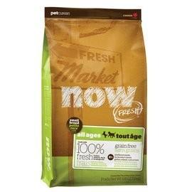 加拿大NOW !~鮮肉無穀類天然糧小型犬配方0 5 磅~WDJ