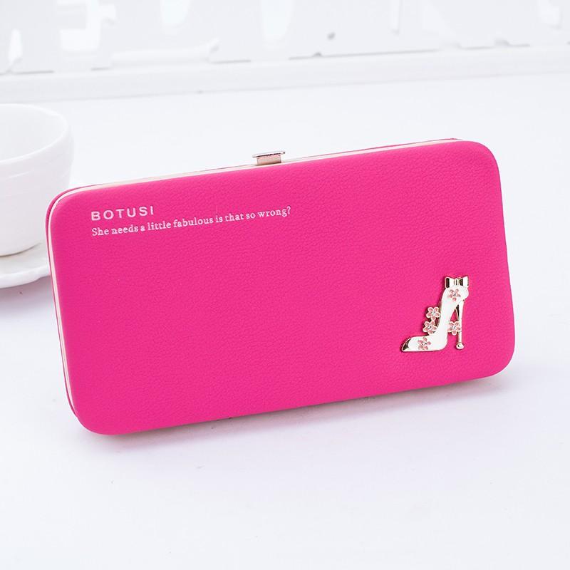 夏潮女手拿錢包女長款日韓印花可愛小清新飯盒包