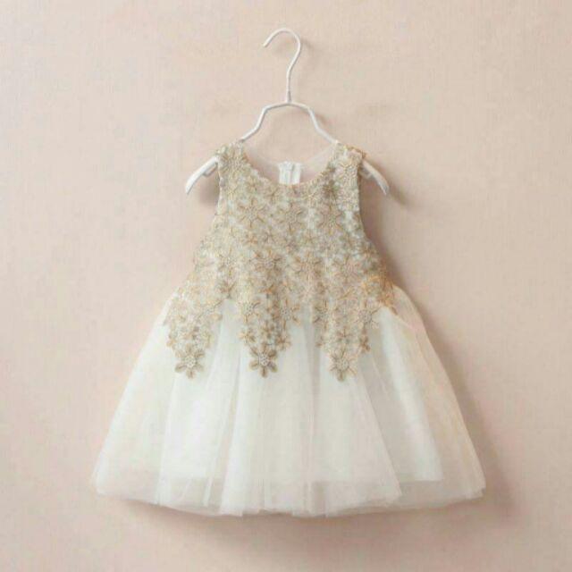 ❤Mus 麻熙 ❤用品~美翻的蕾絲貼花連衣裙洋裝小禮服