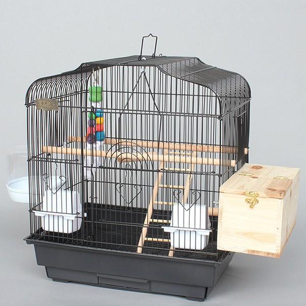 虎皮鸚鵡籠子大號小太陽玄鳳牡丹鸚鵡繁殖鳥籠大型金屬八哥3006 做工精細帶繁殖口抽屜式托盤