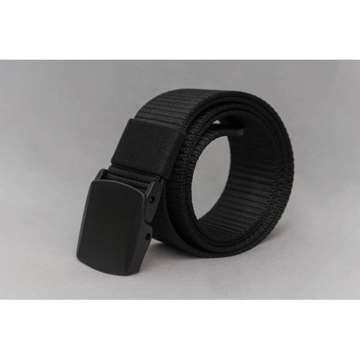 YKK 強化塑膠腰帶扣可通過機場的金屬探測門黑色尼龍腰帶長115cm