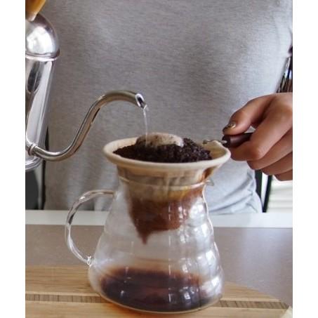 晴天咖啡☼1 4 人份木柄法蘭絨布咖啡手沖組~手沖咖啡手沖濾網咖啡濾布咖啡濾網法絲絨濾