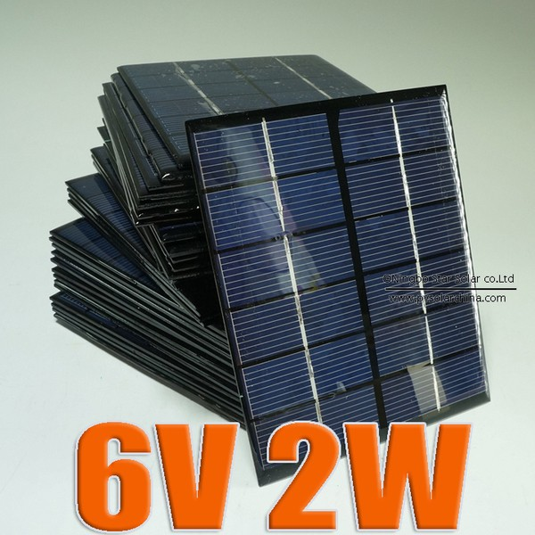 ~UCI 電子~6V 2W 滴膠太陽能電池板迷你太陽能發電板太陽能滴膠板DIY