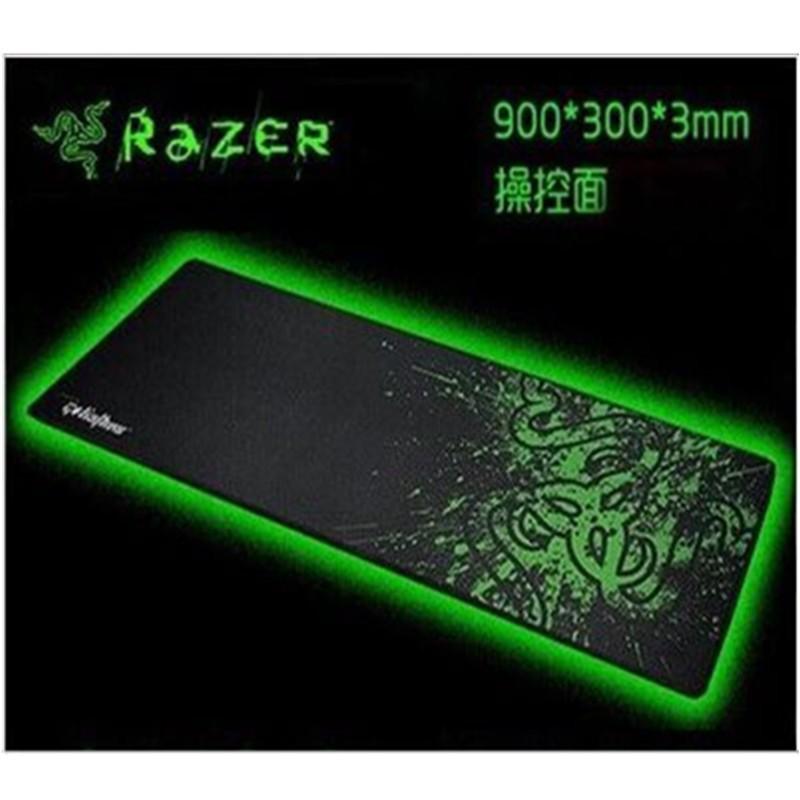 Razer 正品買一送一Razer 鎖邊雷蛇鼠標墊滑鼠墊游戲網吧鼠標墊電競游戲