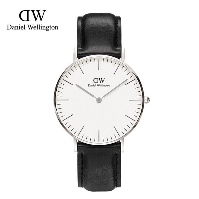 ~CBAU ~DanielWellington 手錶女丹尼爾惠靈頓皮帶石英錶正品DW 女士
