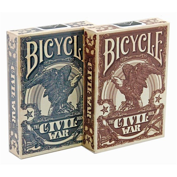 ~USPCC 撲克~Bicycle civil war Playing Cards red