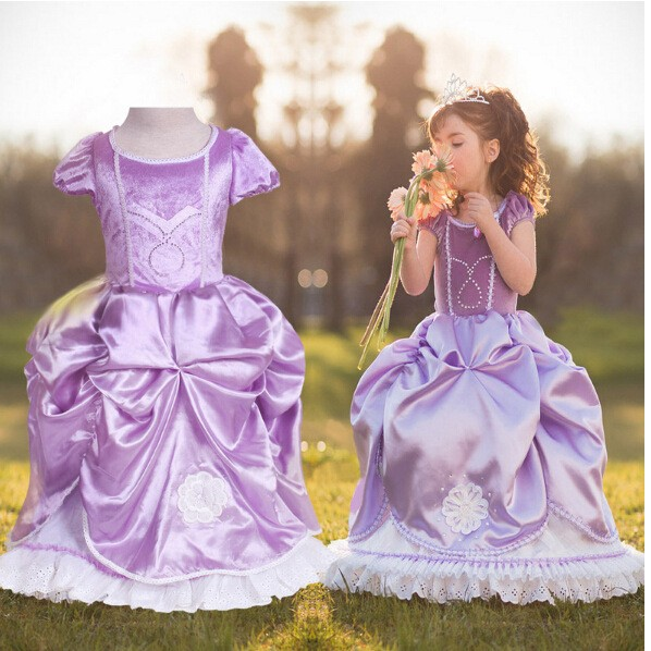 妙妙屋 灰姑娘公主裙女童連身洋裝舞會派對禮服裙子畢業表演禮服萬聖節表演服