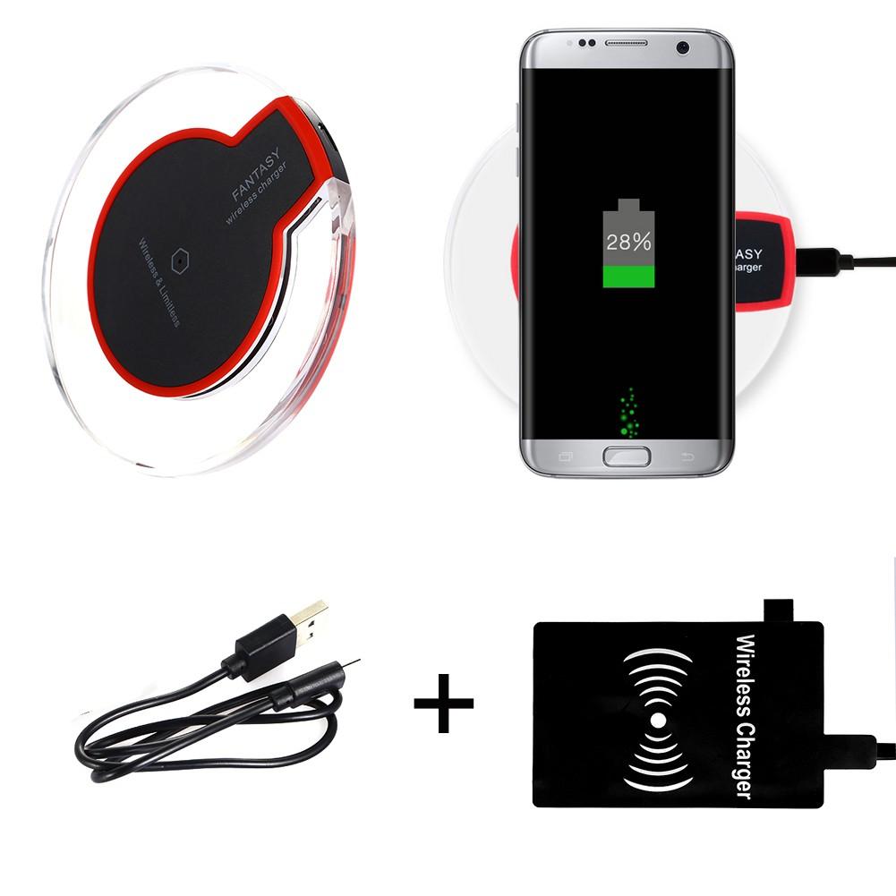 Qi 無線墊充 LED 充電接收器三星Galaxy NOTE 4
