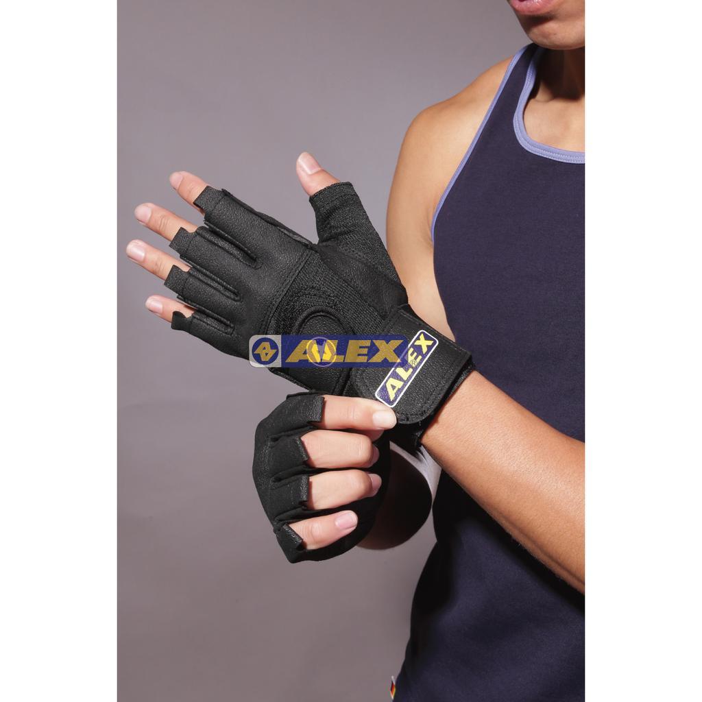 大自在含稅附發票ALEX A 18 重量訓練舉重用手套皮革手套有 門市附發票 有保障