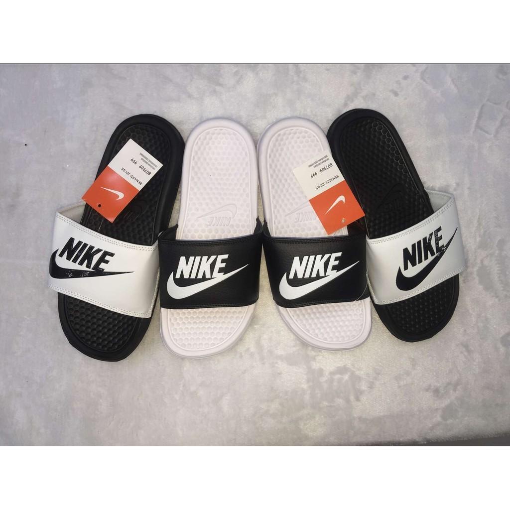 Nike Benassi Swoosh 陰陽拖鞋36 45 碼