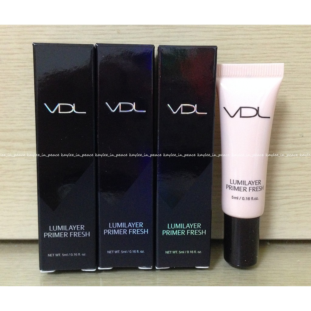 :VDL :水潤提亮妝前乳lumilayer primer fresh 5ML 有盒