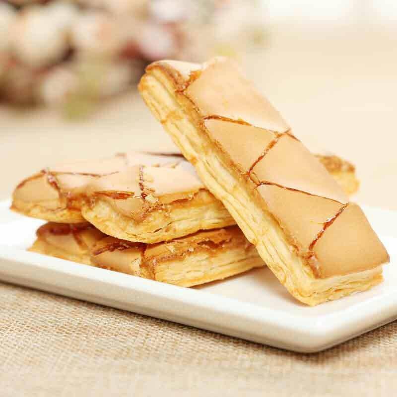 韓國Samlip Nuneddine 100 入義式焦糖奶油千層酥12g