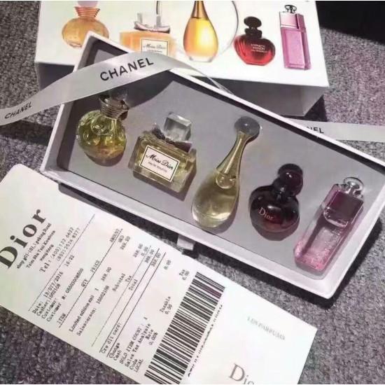 迪奧香水Dior 裝五件套~配送手提袋發票~