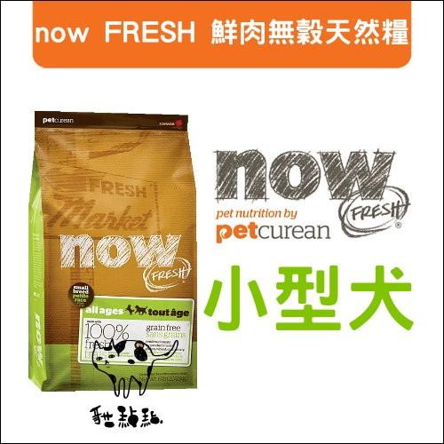 :貓點點寵舖:now FRESH 〔鮮肉無穀天然糧,小型犬,6 磅〕1140 元