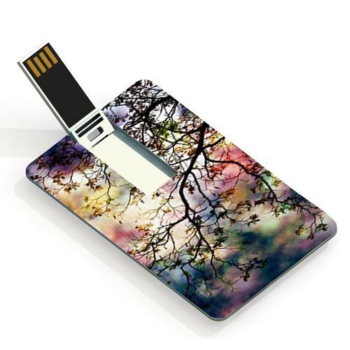 4GB 8GB 16GB 32GB 64GB 多色樹枝 卡片USB 閃存驅動器USB 儲存