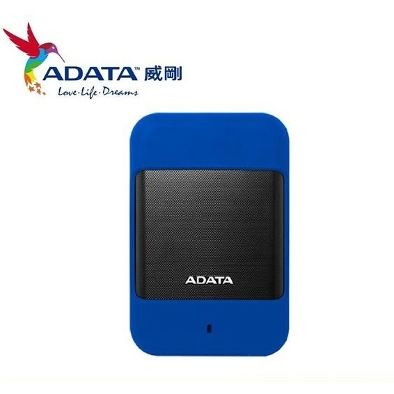 ADATA 威剛HD700 1TB 2TB USB3 0 2 5 吋軍規行動硬碟黑藍2 色